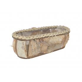 Osłonka owalna z drewna brzozy 44591