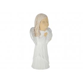 Ceramika figurka NELA z sercem