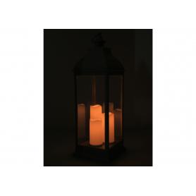 Latarnia lampion 3 świece Led 1191GR