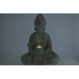 Tw.sztuczne figurka z solarem Budda 943912