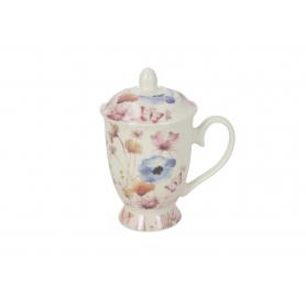 Ceramika Kubek z zaparzaczem Irys 320ml 8,5x12xh15  HTTC1089