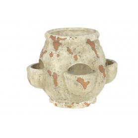 Ceramiczny wazon ogrodowy 16x15x15cm 948613