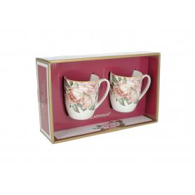 Zestaw 2 kubków Róże CARMANI 840-1711