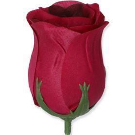 Róża główka kwiatowa satynowa  55341