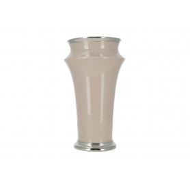 Ceramiczny wazon ecru 38628
