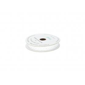 Taśma koronka 11mm/5m TK02 biała