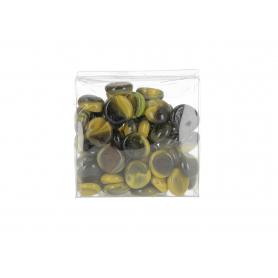 Szklane kamienie dekoracyjne 03950