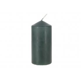 Świeca walec 60x120 butelkowa zieleń SW60120-060
