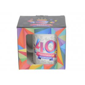 Ceramiczny kubek URO GEOMETRIA 300ml 64081-40