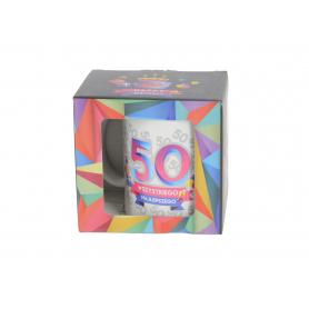 Ceramiczny kubek URO GEOMETRIA 300ml 64081-50
