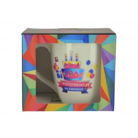 Ceramiczny kubek URO GEOMETRIA 750ml 68355-100