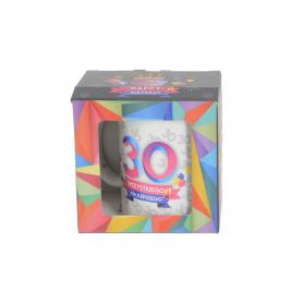 Ceramiczny kubek URO GEOMETRIA 300ml 64081-30
