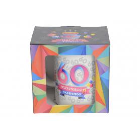 Ceramiczny kubek URO GEOMETRIA 300ml 64081-60