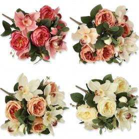 Bukiet Róż i Storczyk 58182