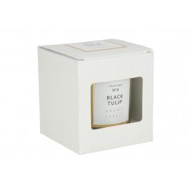Świeca woskowa Classic glass 3480-black tulip