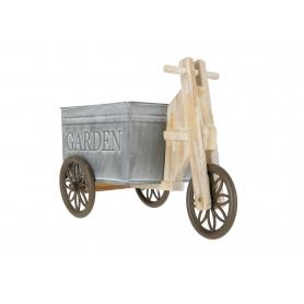 Drewniana osłonka rower 16022