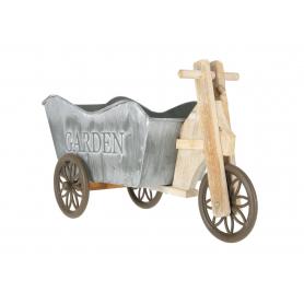 Drewniana osłonka rower 16024