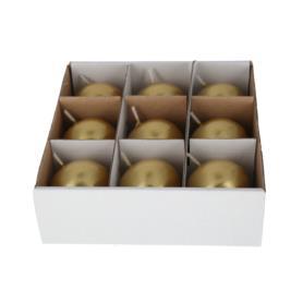 Świeca kula 45KL  8182-klzloty KL/K45