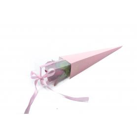 Papier FLOWER BOX na 1różę  FB1079-pink
