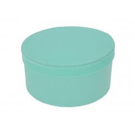 Welurowy niski FLOWER BOX 3w1  FB1101-mint