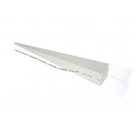 Papier FLOWER BOX na 1 róże FB1080-cream white