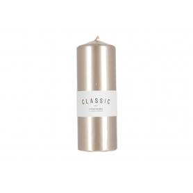 Świeca k classic metalic walec XL  36444-rose