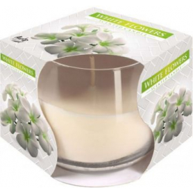 Świeca zapachowa w szkle white flowers SN71-179