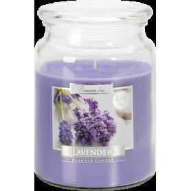 Świeca zapachowa z wieczkiem lavender SND99-79