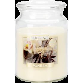 Świeca zapachowa z wieczkiem vanilla SND99-67