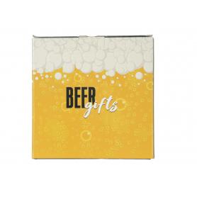 Szklanka do piwa i otwieracz z magnesem  BEER GIFTS 500ml 79320