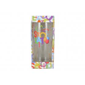 Szklanka piwo URODZINOWE LITERKI 500ml 42030-100