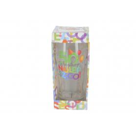 Szklanka piwo URODZINOWE LITERKI 500ml 42030-50