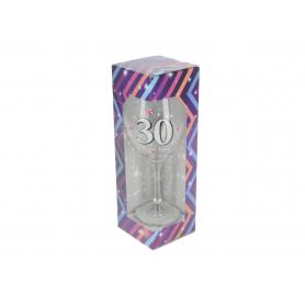 Szklany kielich do wina BROKAT XL 640ml 62582-30