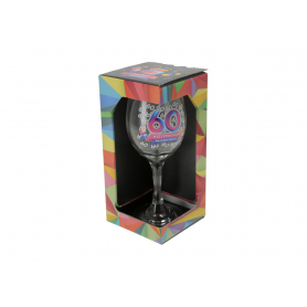 Szklany kieliszek do wina 270mlGEOMETRIA 60915-30