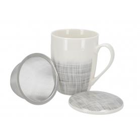 Ceramiczny kubek 350 ml. z zaparzaczem CR365