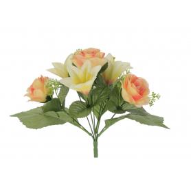 Bukiet Róż i Lilii