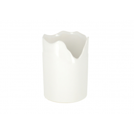 Ceramiczna osłonka Bella mini orchid whi 31010