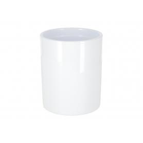 Ceramiczna doniczka Cyli  White 18016WH 180/16