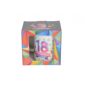 Ceramiczny kubek URO GEOMETRIA 300ml 64081-18