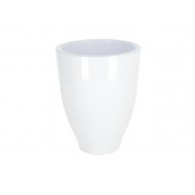 Creamiczna doniczka Royal White 11115WH 111/15