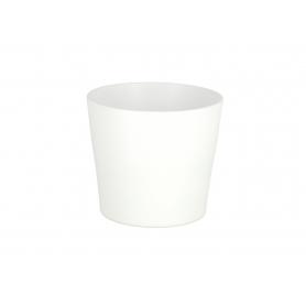 Ceramiczna osłonka Londyn biały mat 20414 204/14