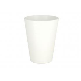 Ceramiczna osłonka Leo Biała mat 64217BI 642/17