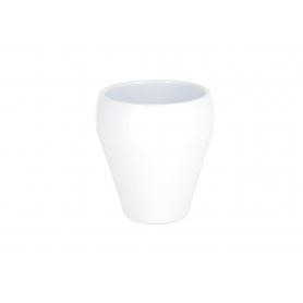 Ceramiczna doniczka Charime White 19115WH 191/15