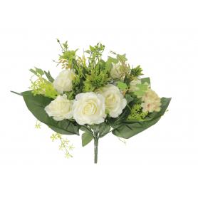 Bukiet Róż z Hortensją i dodatkami 54079