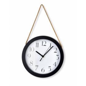 Zegar okrągły na pasku HTBE9024