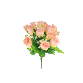 Kwiaty sztuczne bukiet róż 40cm