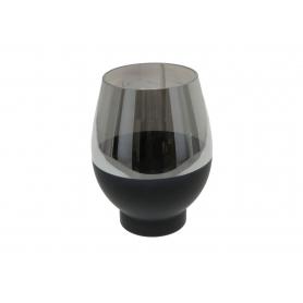 Wazon RITA BLACK 19,2x19,2x25cm HTRD7357