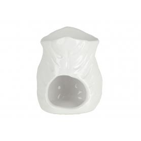 Ceramiczny kominek 9x8,5x12cm biały 12304W