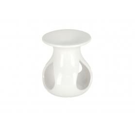 Ceramiczny kominek biały 9,5x11cm 12308W