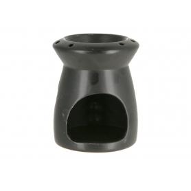 Ceramiczny kominek black 9,3x9,3x11,5cm  12315B